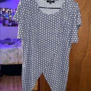 Tops - 2 polka dotted shirts